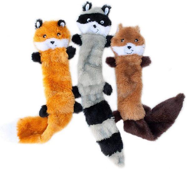 Plus Toys - Fox, Squirrel, racoon